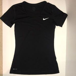 Black Nike Pro Tee